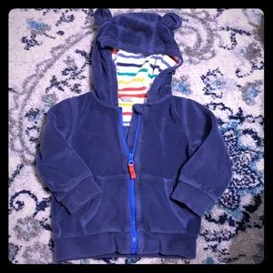 Mini Boden Terry Cloth Hoodie 18-24 Months
